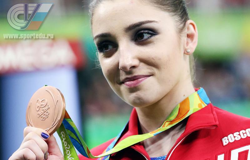 Русская гимнастка Алия Мустафина завоевала бронзу наОИ