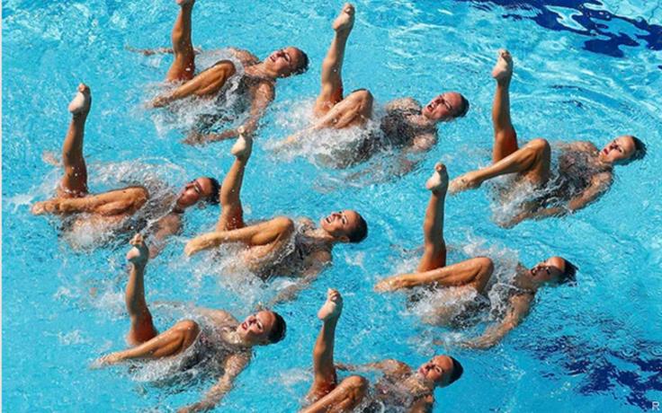 синхронное плавание рио 2016 фото